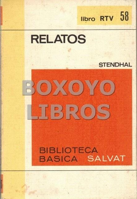 Relatos. Selección, traducción y prólogo de Consuelo Berges