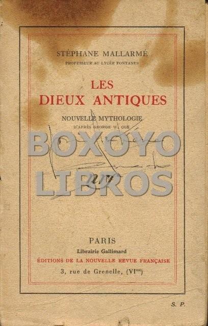 Les Dieux Antiques. Nouvelle mythologie d'après George W. Cox