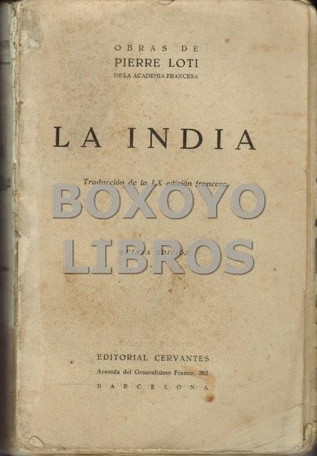 La India. Traducción de la IX edición francesa