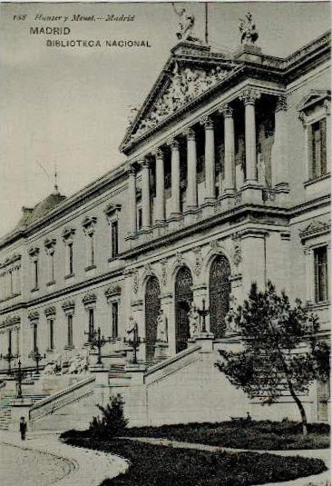 188. Hauser y Menet - Madrid. Madrid. Biblioteca Nacional. Sin circular