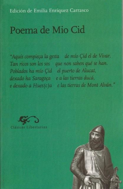 Poema de Mio Cid. Edición de Emilia Enríquez Carrasco