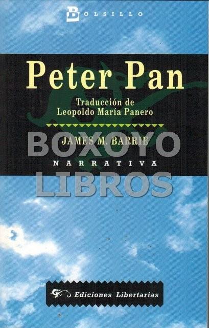 Peter Pan. Traducción de Leopoldo María Panero