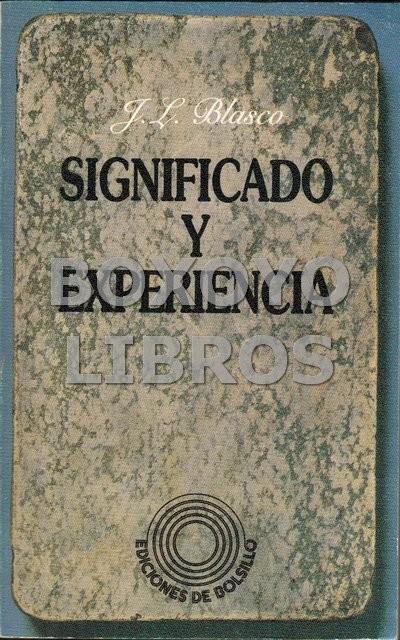 Significado y experiencia. La teoría del conocimiento y la metafísica en el positivismo lógico