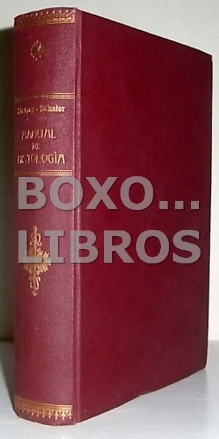 Manual de Histología. Versión española de J. Puche Álvarez. Prólogo de Ferrer Cagigal