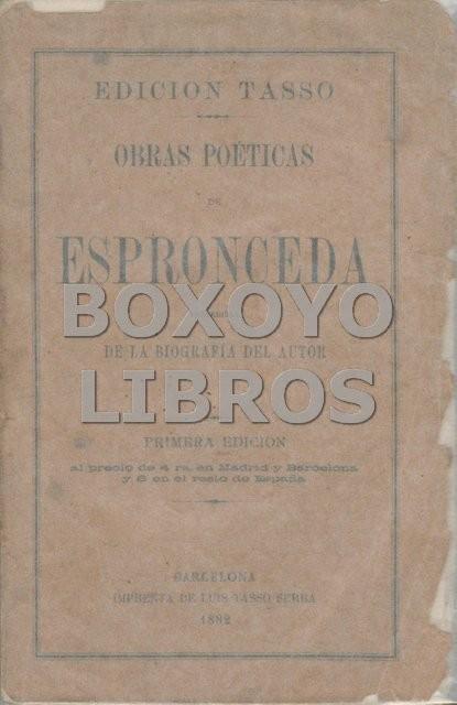 Obras poéticas, precedidas de la biografía del autor.