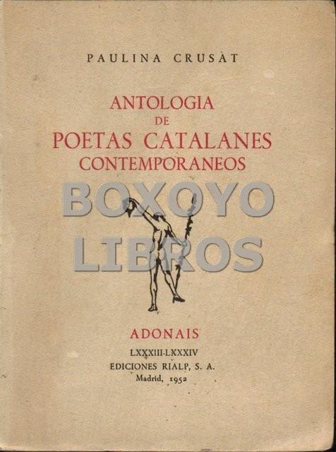 Antología de poetas catalanes contemporáneos