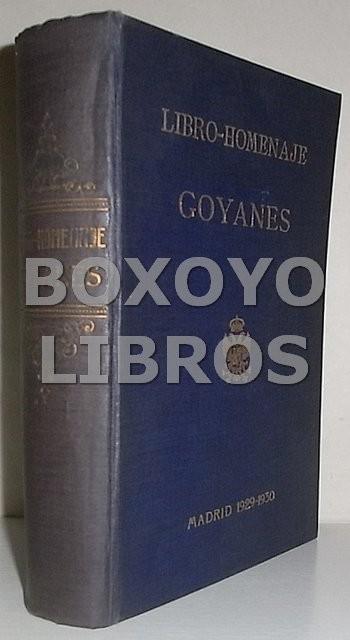 Libro-homenaje. Goyanes