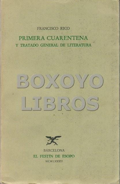 Primera cuarentena y tratado general de literatura