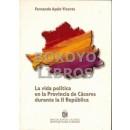 La vida política en la provincia de Cáceres durante la II República
