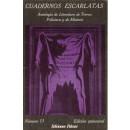 Cuadernos Escarlatas. Antología de Literatura de Terror, Policiaca y de Misterio