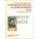 IV Centenario de la publicación de la Minerva del Brocense: 1587-1987