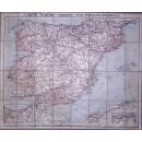 Carte TARIDE Routier nº 34: Espagne et Portugal
