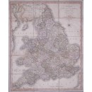 A new map of England & Wales, comprehending the whole of Turnpike roads, with the great Rivers, and navigable canals