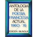 Antología de la poesía francesa actual 1960-1976. Edición bilingüe