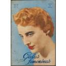 Galas femeninas. Revista del Club artístico español de peluqueros de señoras de Madrid. Enero 1956