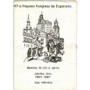 47ª Hispana kongreso de esperanto. Madrid 16-20- a aprilo. Jubiliea Jaro 1887-1987. Dua Informilo