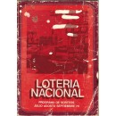 Lotería Nacional. Programa de sorteos Julio Agosoto Septiembre 1976