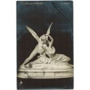 Tarjeta postal. L'Amour & Psyché (de Canova)