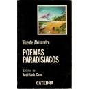 Poemas paradisiacos. Edición de José Luis Cano