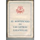 El pontificado en la letras españolas