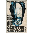 Paul Dufour en España ¡Dos agentes en servicio!