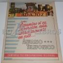 Mapa de la provincia de Badajoz. Anuario Telefónico de la Compañía Telefónica Nacional de España (CTNE)