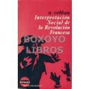 Interpretación social de la Revolución Francesa