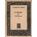 Escritores de Indias. Tomo I. Selección, estudio y notas de Manuel Ballesteros