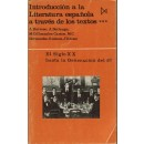 Introducción a la literatura española a través de los textos *** El siglo XX desde la Generación del 27.