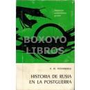 Historia de Rusia en la postguerra.Versión española de Rodolfo A. Arévalo Mackry