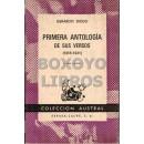 Primera antología de sus versos: (1918-1941)
