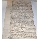 Sobre partición de bienes de Juan de Heredia Tejadas y su esposa María de Orive, vecinos de la Villa de Jubera