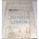 Documentos relativos al pago de suministros para el Regimiento de Infantería de Málaga por el Marqués del Vado