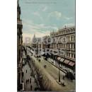 Tarjeta postal. Buenos Aires, Avenida y Plaza de Mayo