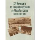 XXX aniversario del Colegio Universitario de Filosofía y Letras