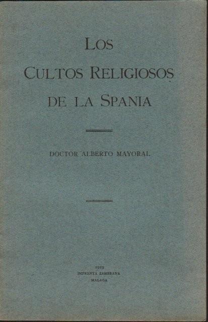 Los cultos religiosos de la Spania