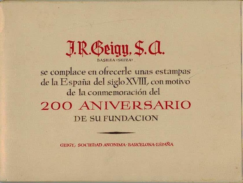 Viaje por la España del siglo XVIII