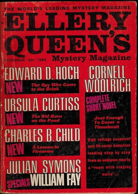 Ellery Queen's Mistery Magazine Vol. 46, nº 6. December 1965