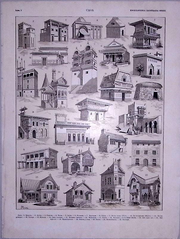 Enciclopedia ilustrada Segui. Casa