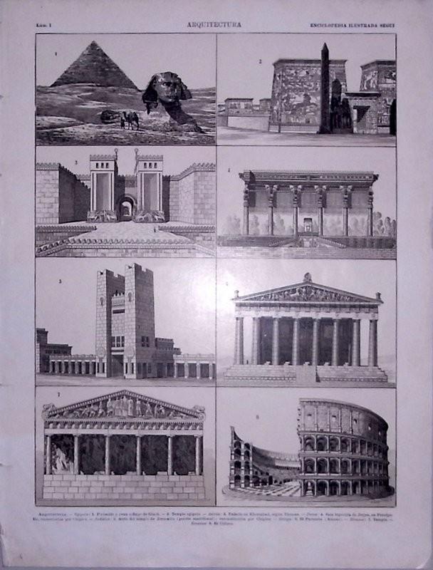 Enciclopedia ilustrada Segui. Arquitectura
