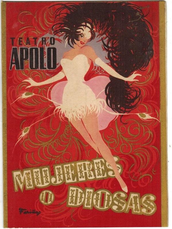 Teatro Apolo. Mujeres o Diosas