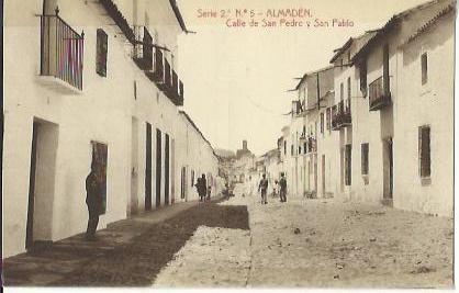 Serie 2ª Nº 5 - ALMADÉN. Calle de San Pedro y San Pablo. Sin circular