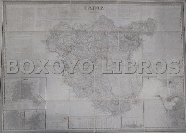 Mapa de la Provincia de Cádiz, por el Coronel de Ingenieros D.../, auxiliado por D. Pascual Madoz