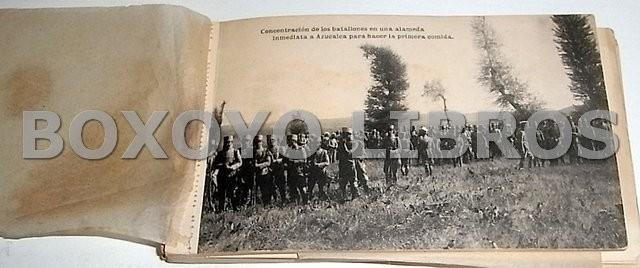 Academia de Infantería de Toledo. Curso 1920-1921. Campamento de los Alijares