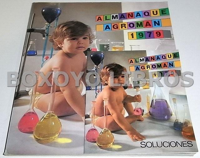 Almanaque Agromán 1979. Incluye Soluciones a los juegos y pasatiempos del Almanaque Agromán 1979