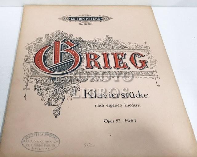 Klavierstücke nach eigenen Liedern. Op. 52