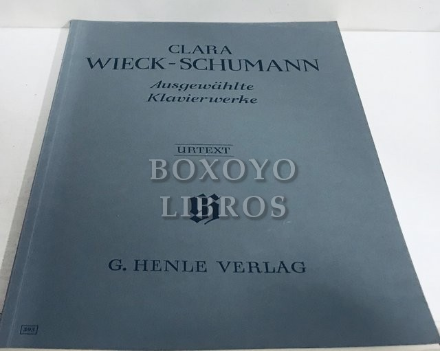 Ausgewählte Klavierwerke. Nach autographen, abschriften und den erstausgaben herausgegeben von Janina Klassen. Fingersatz von Hans-Martin Theopold