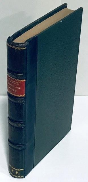 Un mariage en 1915.Nouvelle édition