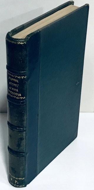 Journal secret d'Anna Viroubova (1909-1917).  traduit du Russe par M. Vaneix