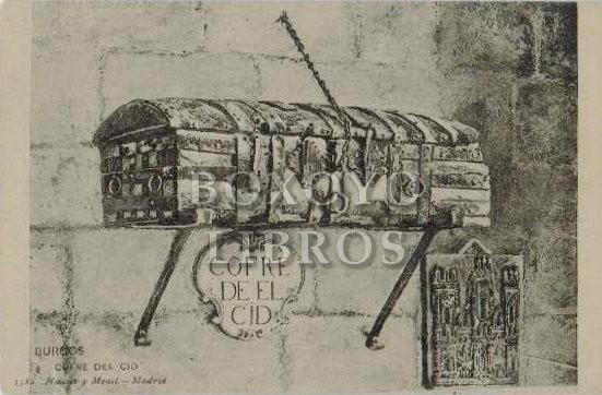 BURGOS. Cofre del Cid. 1382